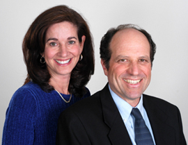 Joan DiFuria and Dr. Stephen Goldbart